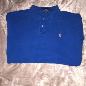 Blue Polo Ralph Lauren Short Sleeve